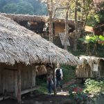 モン族の村